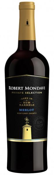 Robert Mondavi Private Selection Aged In Rum Barrels Merlot