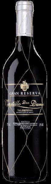 6 x 2012 Castillo Don Daniel Gran Reserva Valdepenas D.O.