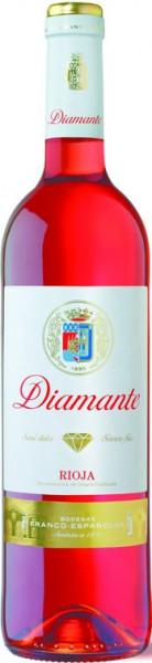 6 x 2018 Diamante Rosado Franco Espanolas halbtrocken Rioja
