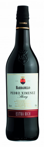 3 x Sherry Pedro Ximenez 19,00% vol. Bodegas Barbadillo