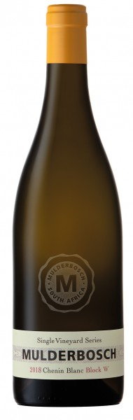 Mulderbosch Chenin Blanc Single Vineyard Series W Block