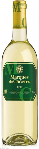 6 x 2019 Marqués de Cáceres Rioja Blanco trocken Rioja DO
