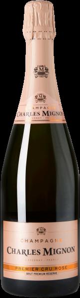 Charles Mignon Rosé Brut Premium Reserve Champagne