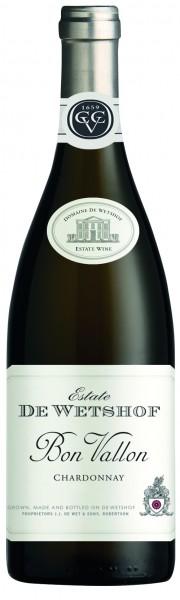 De Wetshof Estate Bon Vallon Chardonnay Wine of Origin Robertson