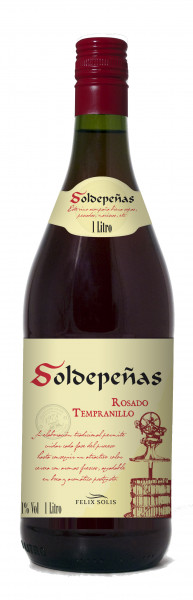 Felix Solis Soldepenas Tempranillo Rosado 1 Liter