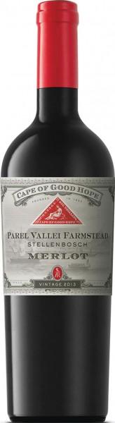 Cape of Good Hope Parel Vallei Farmstead Merlot Franschhoek Anthonij Rupert Wyne