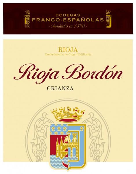 6 x 2016 Bordon Crianza D.O.Ca Rioja
