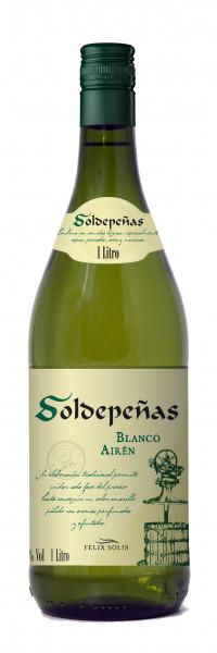 Felix Solis Castillo de Soldepenas Airen Blanco Literflasche