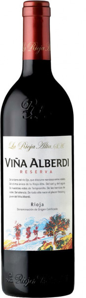 6 x 2015 La Rioja Alta Vina Alberdi Reserva , Rioja D.O.C.
