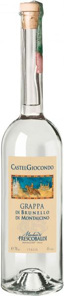 Grappa di Brunello di Montalcino 45% Vol Castelgiocondo Marchesi De´ Frescobaldi