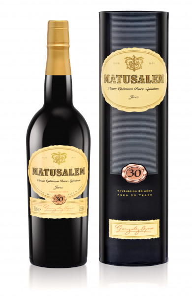 2 x González-Byass Matusalem Oloroso dulce halbe Flasche