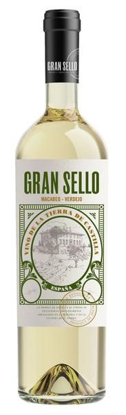 6x 2018 Gran Sello Blanco Verdejo Macabeo Vino Tierra de Castilla
