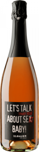 Emil Bauer & Söhne Let's Talk About Pinot Rosé Sekt Baby!
