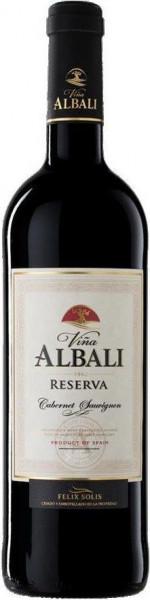 6x 2014 Vina Albali Reserva Cabernet-Sauvignon Valdepenas