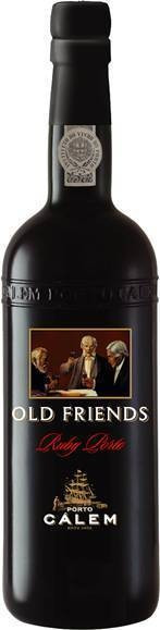 Portwein CALEM Old Friends Ruby Port 20 % vol. fruchtig