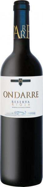 2014 Ondarre Rioja Reserva Bodegas Ondarre