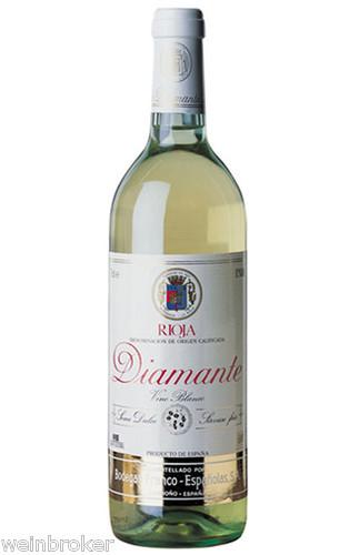 6 x 2018 Diamante Blanco Franco Espanolas halbtrocken Rioja