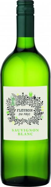 Les Vignerons de la Vicomte Fleuron Sauvignon Blanc I.G.P. Pays d'Oc Liter