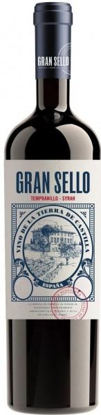6 x 2018 Gran Sello Tempranillo Syrah Vino de la Tierra de Castilla
