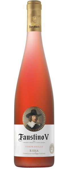 2019 Faustino V Rosado , Rioja D.O.