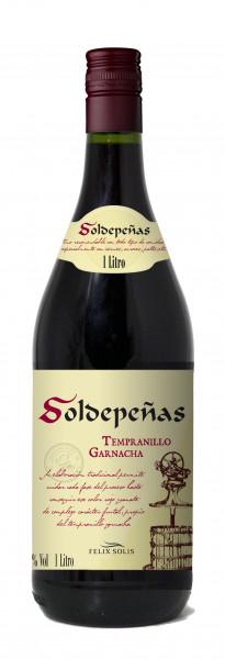 6 x Felix Solis Soldepenas Tempranillo Tinto 1 Liter